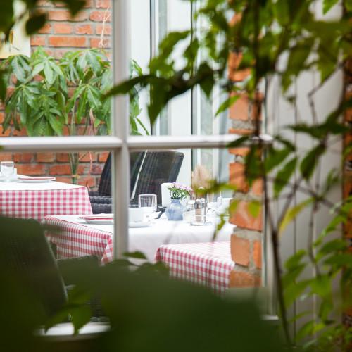 Der Wintergarten im Landhaus Alte Schmiede